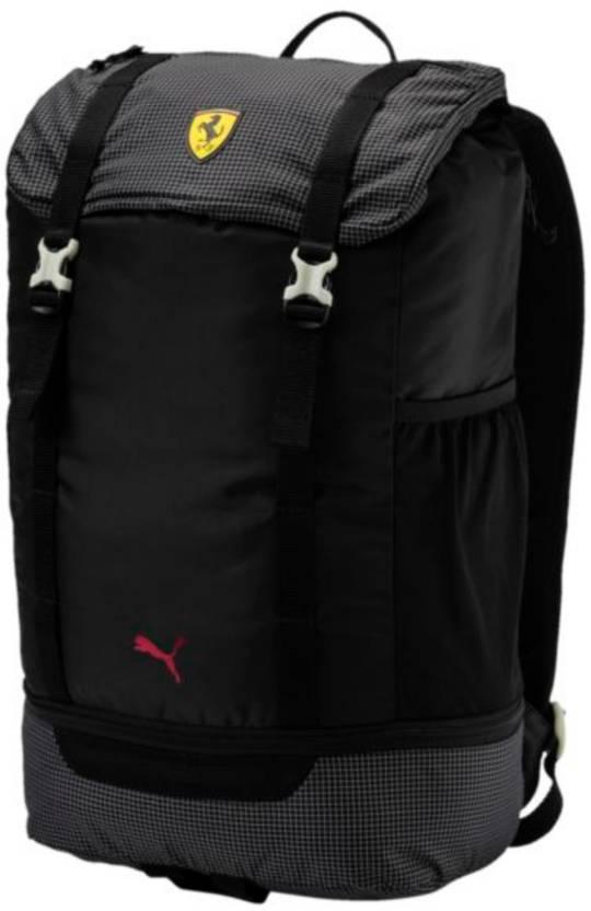 Puma SF Fanwear Night 24 L Laptop Backpack Black - Price in India ... 55fb051966cc6