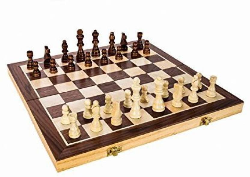 Huzain Handicrafts Wooden Chess Board Game Wooden Chess Buy