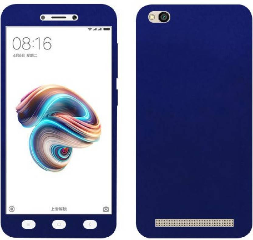 finest selection a8fb3 e59cb Kosher Traders Front & Back Case for Mi Redmi 5A