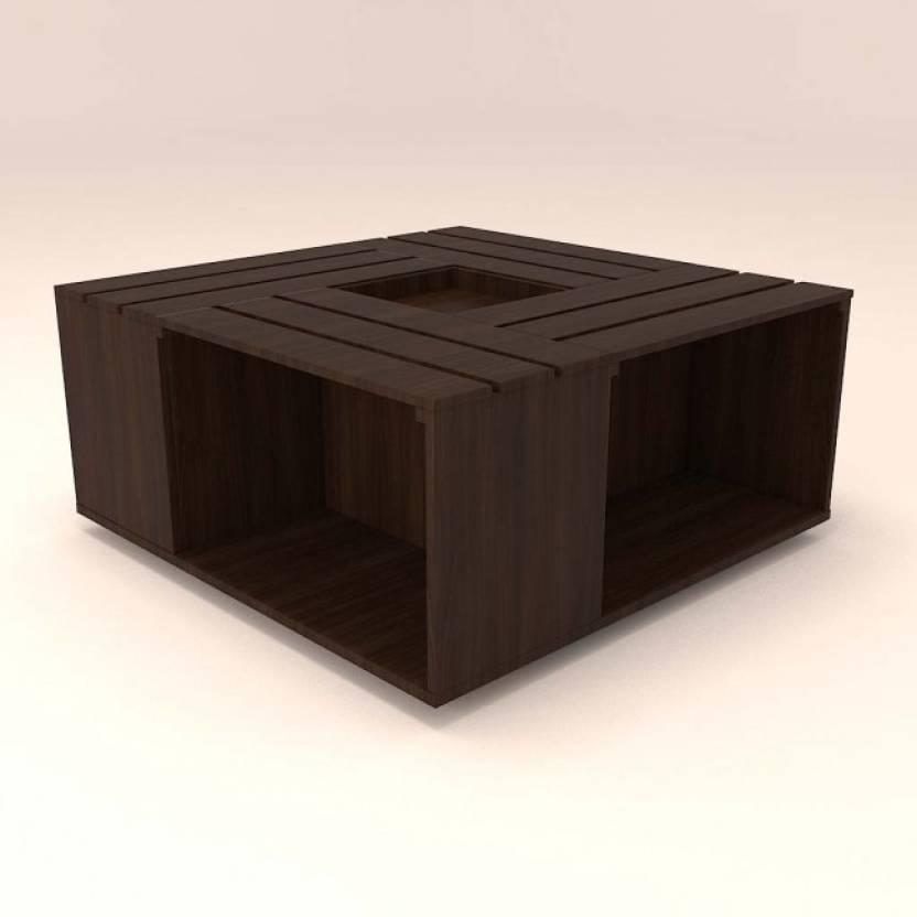 Hexagon Furniture Engineered Wood Coffee Table Price In India Buy - Hexagon wood coffee table