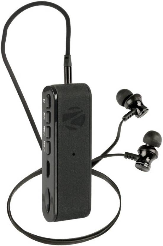 8cb16fd1f85 Zebronics FAITH Bluetooth Headset with Mic Price in India - Buy ...