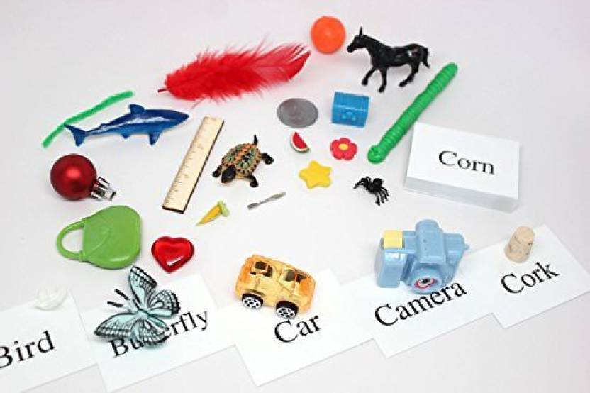 Generic Alphabet Object Set - Bossy R Words Alphabet Objects