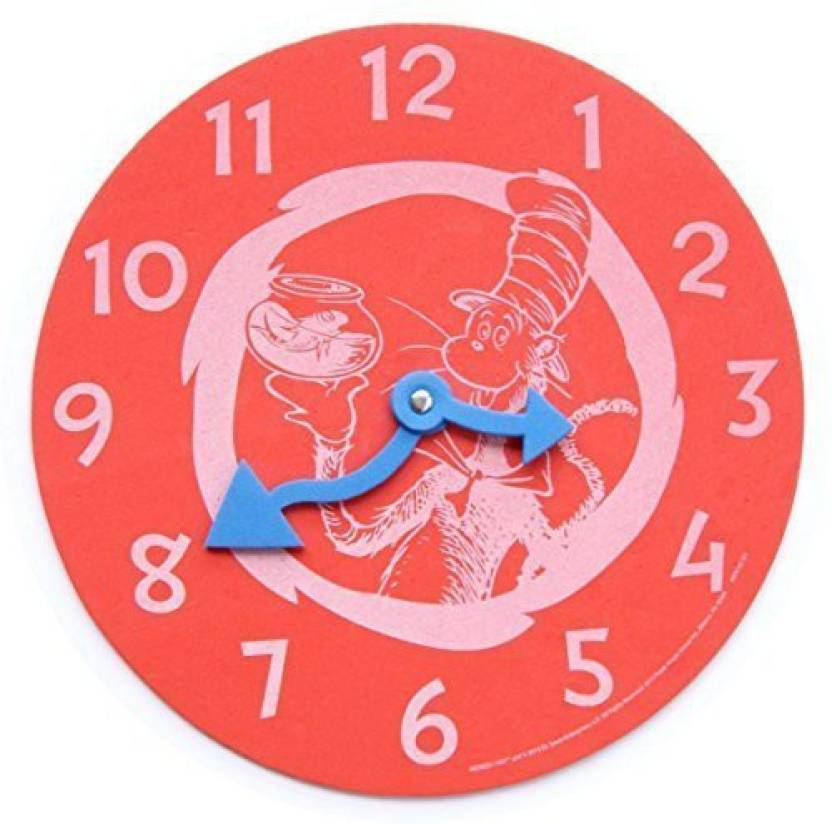 c39dc1f5 Dr Seuss Dr. Cat In The Hat Foam Learning Clock - Red Price in India ...