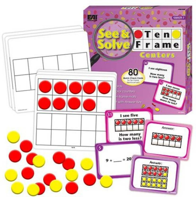 EAI Education See & Solve Ten Frame Centers Price in India - Buy EAI ...