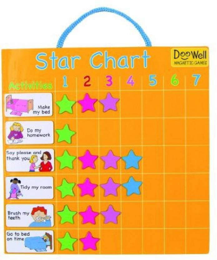 Fiesta Crafts Magnetic Star Chart Multicolor