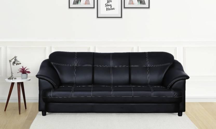 Cloud9 Titanic Leatherette 3 Seater Sofa Price In India Buy Cloud9