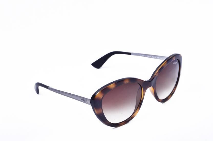 57a62db95db3d Buy Vogue Cat-eye Sunglasses Multicolor For Women Online   Best ...