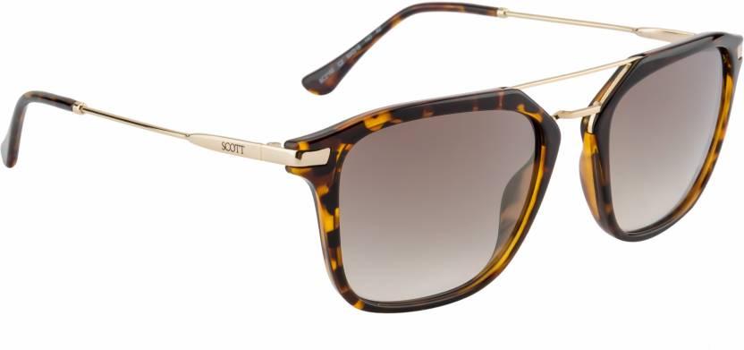 52f7adf92b4 Buy Scott Wayfarer Sunglasses Green For Men   Women Online   Best ...