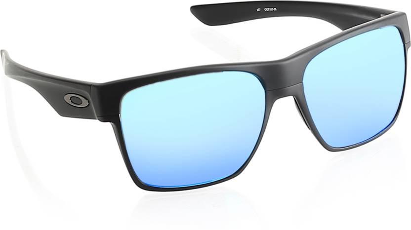 ca1e89c8f7 Buy Oakley EVZERO PATH Rectangular Sunglass Blue For Men Online ...