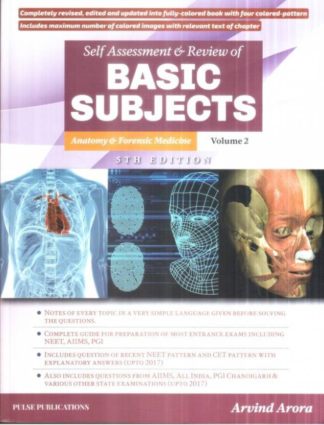 Self Assessment review of Basic subjects Anatomy and