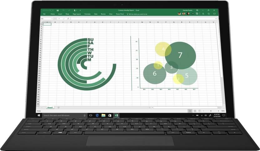 Microsoft Surface Pro Core i5 7th Gen - (8 GB/256 GB SSD/Windows 10