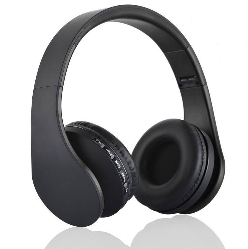 0898e94a210 ACID EYE LH_811_BLACK Bluetooth Headset with Mic (Black, Over the Ear)