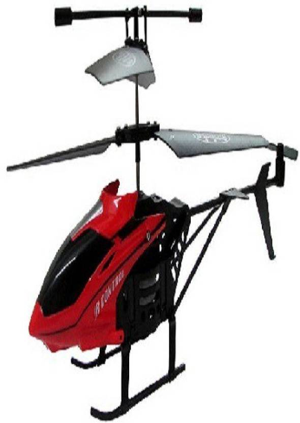Wellcare V-Max-HX708 Remote Control Helicopter for Kids-Red