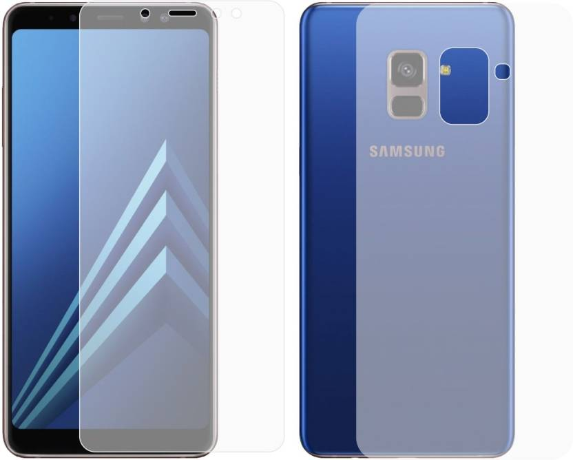 new concept ddba1 25489 Case Creation Front and Back Screen Guard for Samsung Galaxy A8 Plus