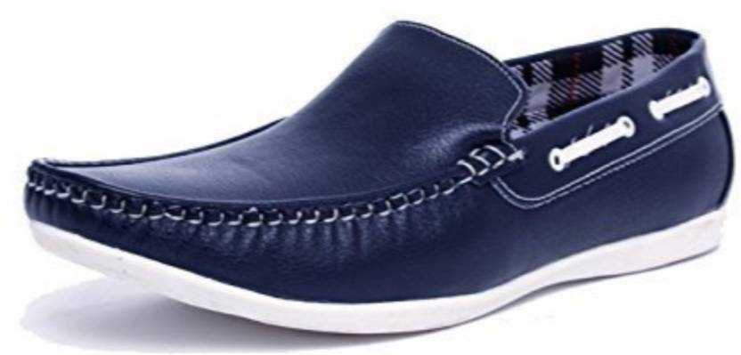 43027b472ce Prayog Prayog Men s Blue Loafer Shoes Boat Shoes For Men - Buy ...