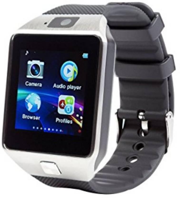Deep Global Bluetooth SmartWatch With WhatsApp, Facebook, Twitter,  Pedometer, Remote Camera, SIM Card & Sleep Monitoring Support Single i7  Ultralight