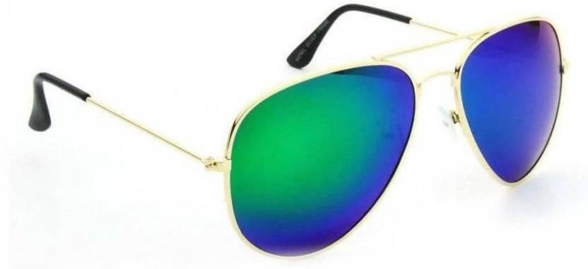 b313ed34c326 Buy Ukani Fashion Aviator Sunglasses Blue For Men   Women Online ...