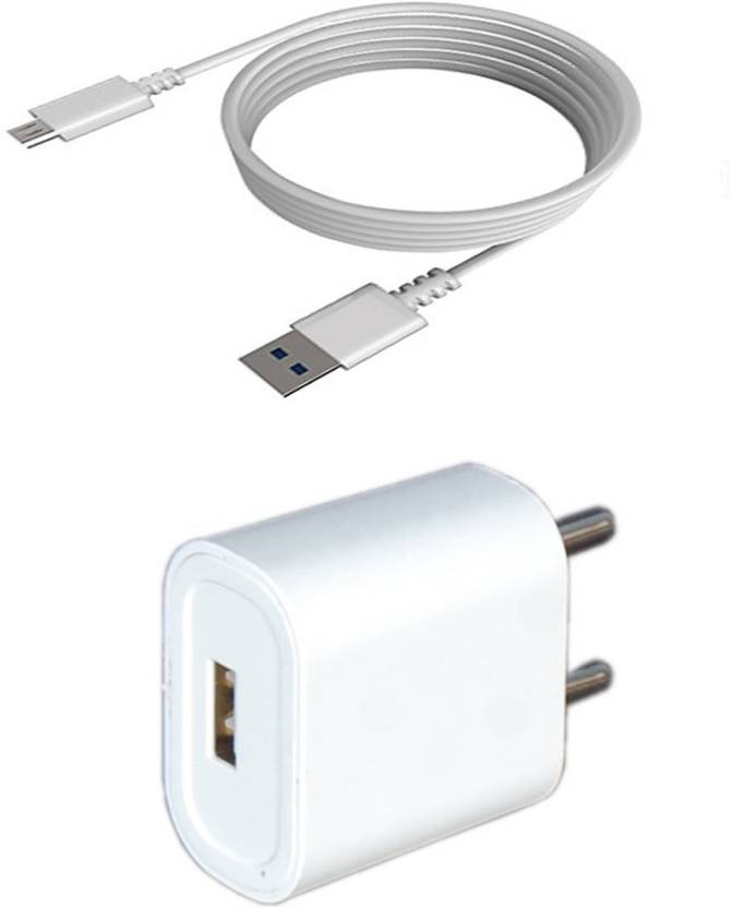 Felicity WXC526 1 A Mobile Charger with Detachable Cable White