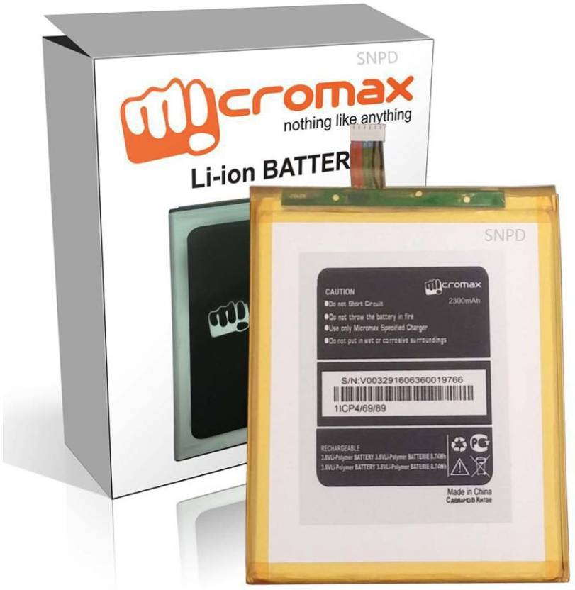 Micromax A300 Battery