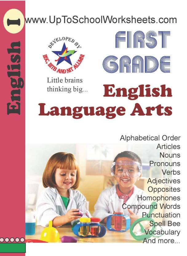 Grade 1 English Grammar Language Worksheets-CBSE-ICSE-With