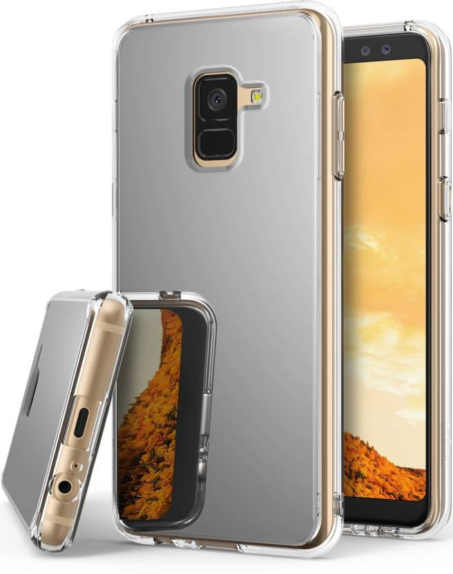 super popular 58109 826d2 Ringke Back Cover for Samsung Galaxy A8 Plus Case Ringke [Fusion Mirror]  Bright Reflection Radiant Luxury Mirror Bumper Case