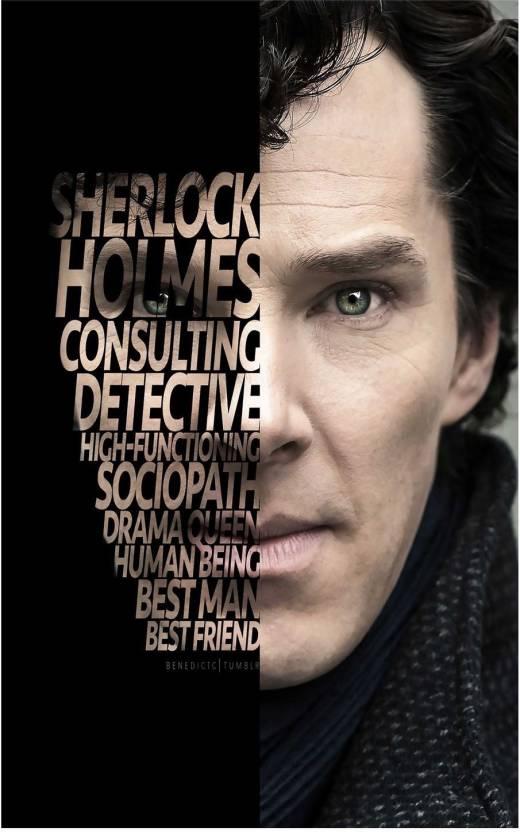 Sherlock Holmes Poster | sherlock holmes tv show posters