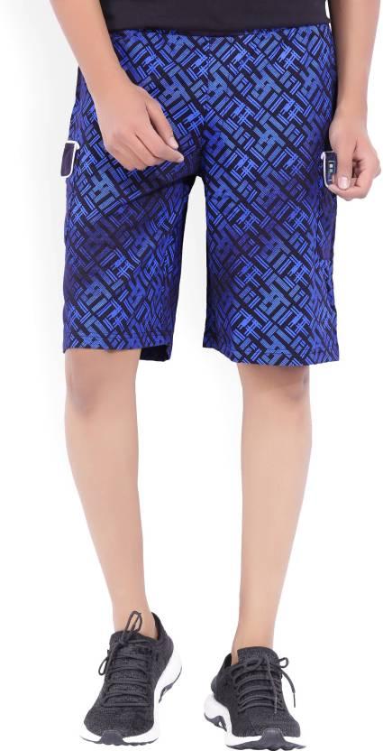 b812823344529 Fila Printed Men's Blue Cargo Shorts - Buy PEA Fila Printed Men's Blue  Cargo Shorts Online at Best Prices in India | Flipkart.com