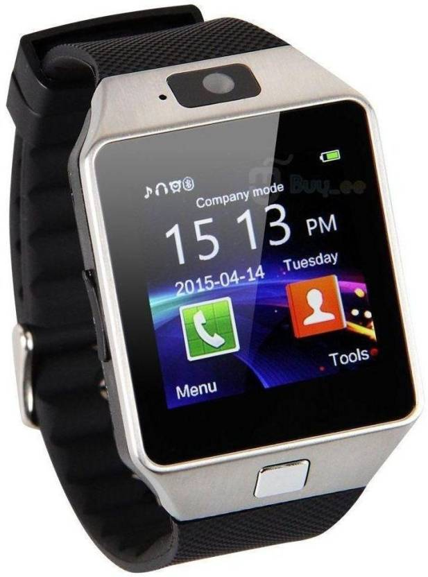 12b3c60d0a6 SYL X3 Silver Smart Watch Compatible With All 3G