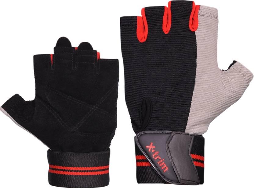 Xtrim PROFIRM Gym   Fitness Gloves Black