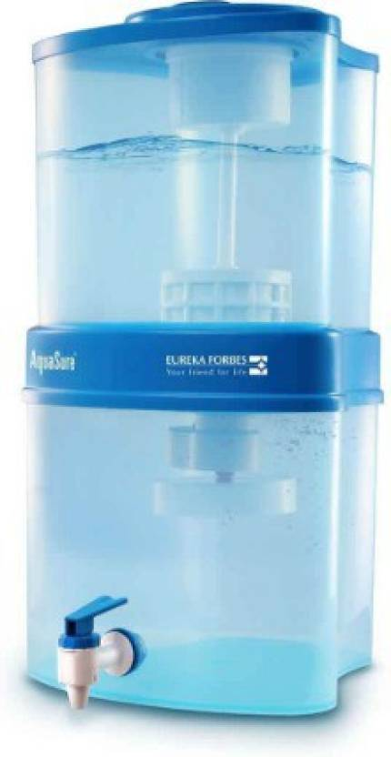 d29b6185277 Eureka Forbes MAXIMA 4000 15 L Gravity Based Water Purifier (WHITE - BLUE)
