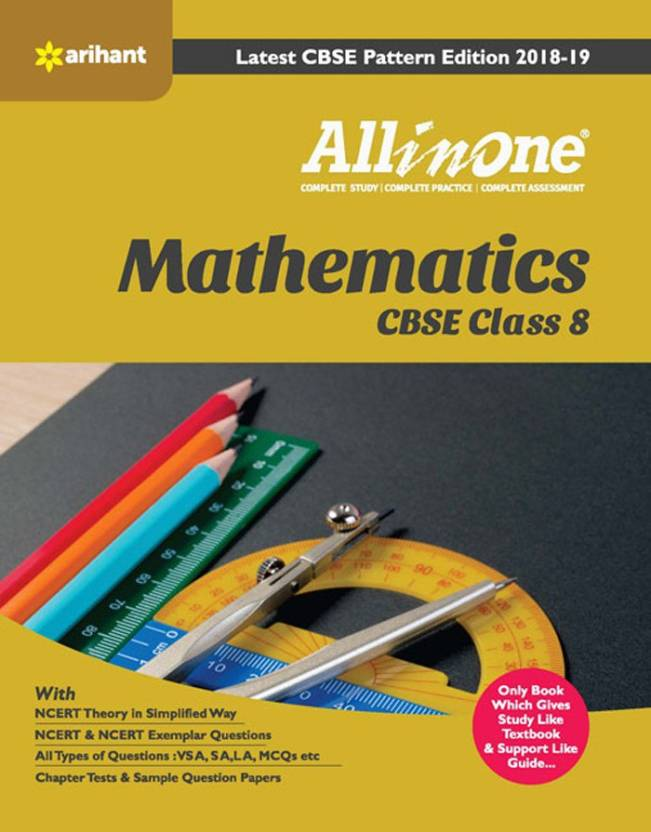 CBSE All In One Mathematics Class 8 for 2018 - 19: Buy CBSE