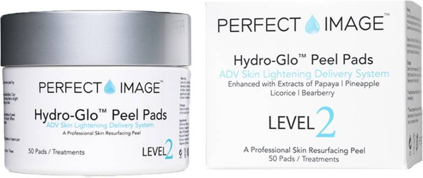 Perfect Image Hydro Glo Peel Pads Enhanced With Lactic Acid 30