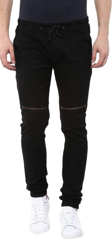 431252ddd4b Urbano Fashion Jogger Fit Men Black Jeans - Buy Urbano Fashion ...