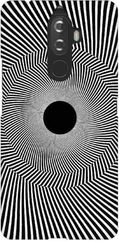 ATOM Black Hole Illusion Premium Printed Skin For Lenovo K8 Note