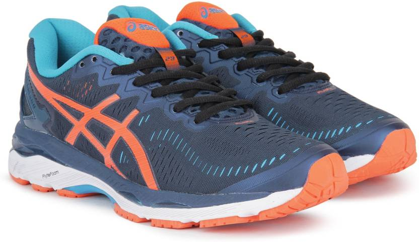 d878496a04b700 Asics GEL-Kayano 23 Running Shoes For Men - Buy Poseidon/Flame ...