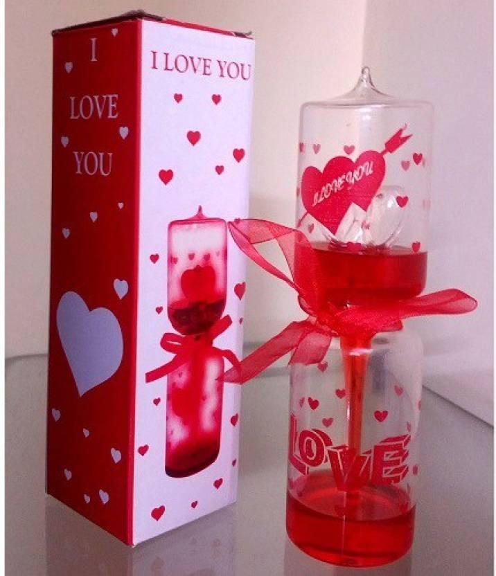 Saanvi Creations Love Meter Valentine Gift Wedding Anniversey