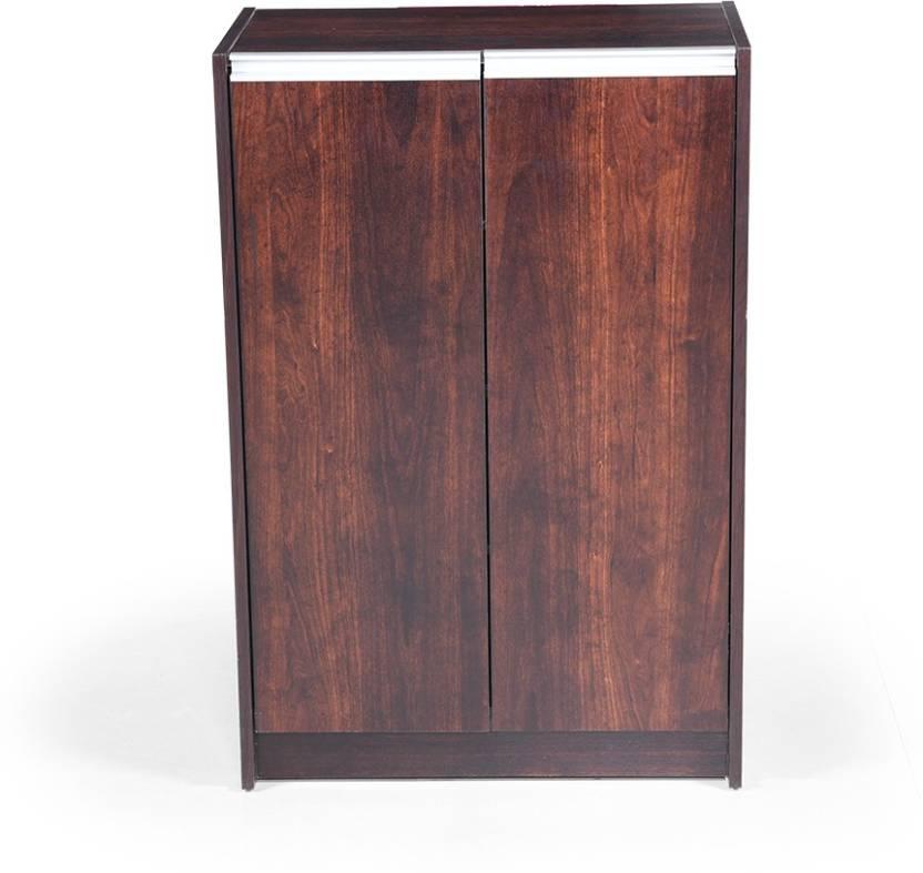 RoyalOak Cleo Engineered Wood Shoe Rack Brown, 4 Shelves