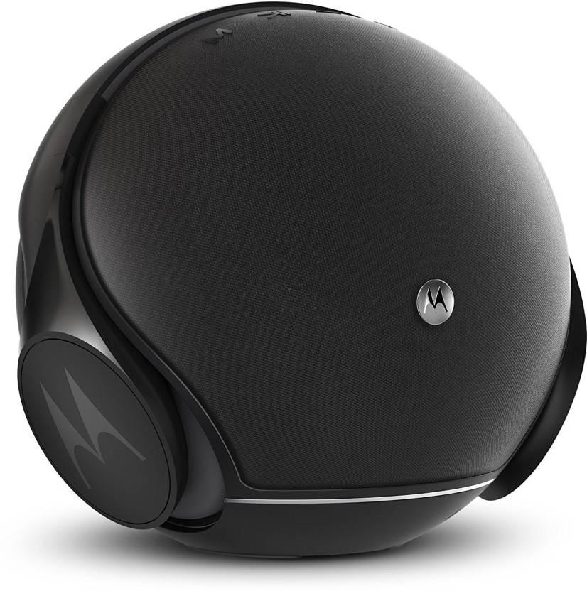 28012ec8d83 Motorola Sphere 2-in-1 Wireless Speaker & Headphone 16 Bluetooth Home Audio  Speaker (balck, Stereo Channel)