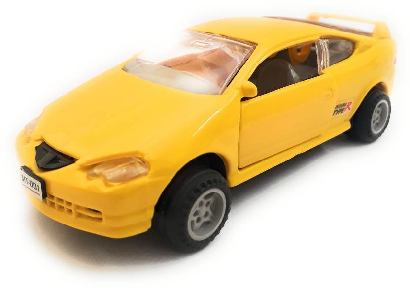 The Game Begins Honda Car Toy For Kids Yellow Color Honda Car Toy
