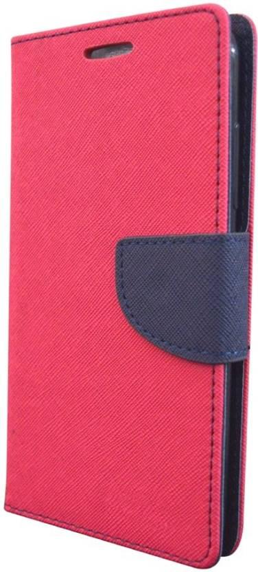 Coverage Wallet Case Cover for Motorola Moto C Plus Pink