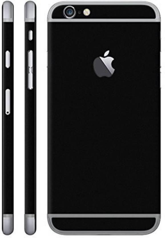 best sneakers fb639 e70ae SLICKWRAPS Matte Black Apple iPhone 6, Apple iPhone 6S Matte Black ...