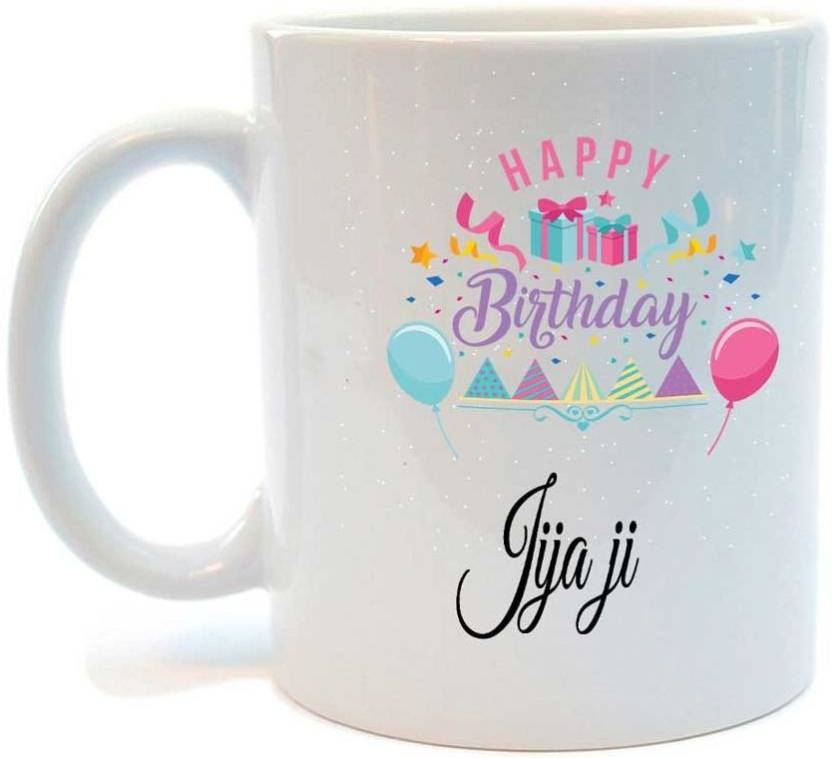 Juvixbuy Happy Birthday Jija Printed Coffee Ceramic Mug Price In