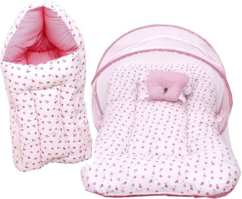 387ae9cb5 RBC RIYA R baby-101 combo of net bed and sleeping bag crib Price in ...