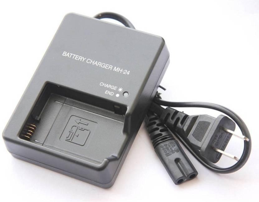 BOOSTY MH-24 Charger for Nikon EN-EL14 battery Camera Battery Charger (Black)