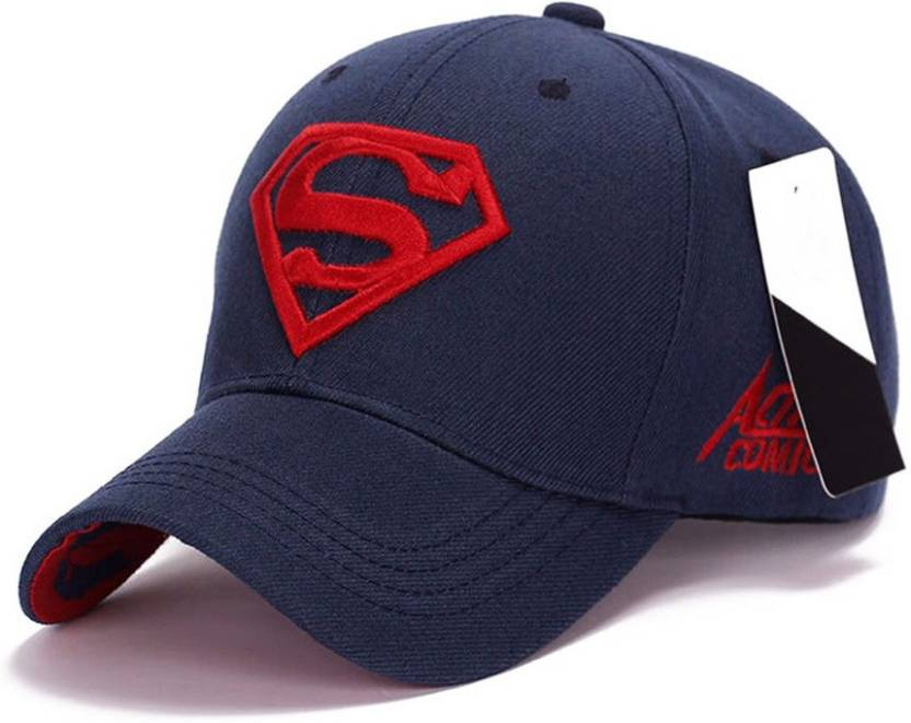 7036a461636 Treemoda Solid Superman Baseball   Sports Cap by Treemoda Cap - Buy Treemoda  Solid Superman Baseball   Sports Cap by Treemoda Cap Online at Best Prices  in ...