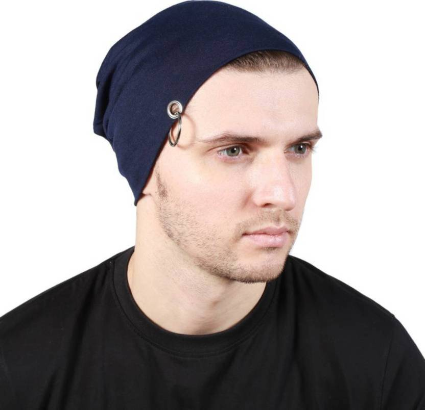 ec4653cffcf Babji Solid Beanie Cap With Ring Cap - Buy Babji Solid Beanie Cap With Ring  Cap Online at Best Prices in India