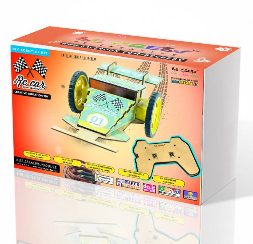 Be cre8v wired rc car robotics diy kit price in india buy be cre8v be cre8v wired rc car robotics diy kit solutioingenieria Image collections