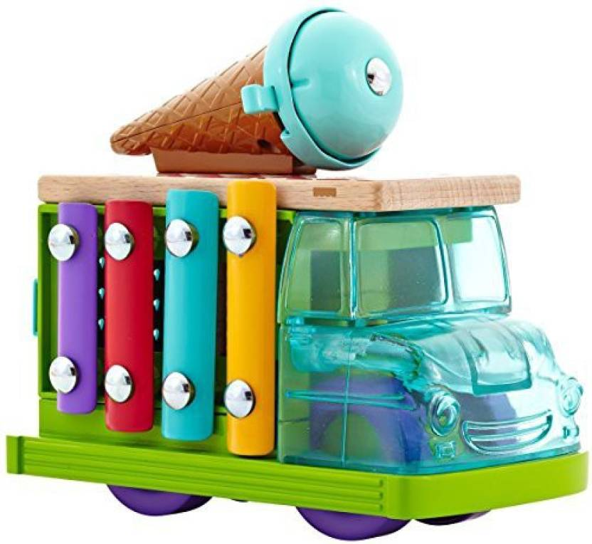 Fisher Price Wooden Toys Sweet Sounds Ice Cream Truck Wooden Toys