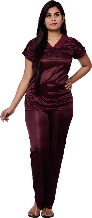 62a2034718 Pretty Awesome Women Nightshirts - Buy Purple Pretty Awesome Women ...