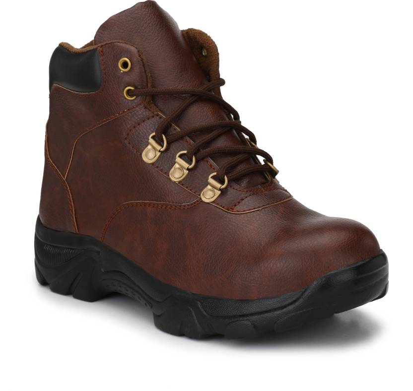 5d4967074e7 Eego Italy Steel Toe Safety Boots Hiking & Trekking Shoes For Men